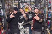 FLAW TOUR WITH AMERICAN GRIM  AT ODDBODYS MUSIC ROOM