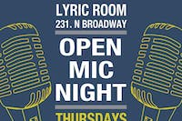 LYRIC ROOM OPEN MIC w/ host JACK BESAW