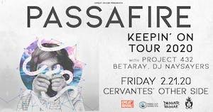 Passafire - Keepin' On Tour w/ Project 432, BetaRay, DJ Naysayers