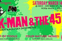 KMan and the 45s, Ship of Fools, Four Nature Homes