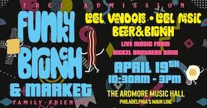 *CANCELED*Funky Brunch & Market: Local Vendors, Live Music, Beer, & Brunch