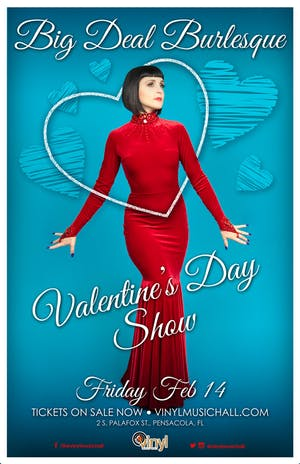 Big Deal Burlesque Valentine's Day Show
