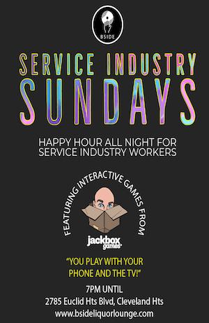 Service Industry Sundays