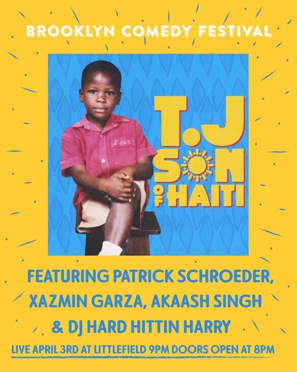 Son of Haiti: TJ Album Release Show and Party