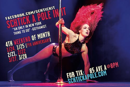 Schtick A Pole In It: Comedy and Pole Dancing