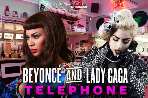 Telephone: Beyonce & Lady Gaga Glitter Ball NYC [POSTPONED FROM 4/24]