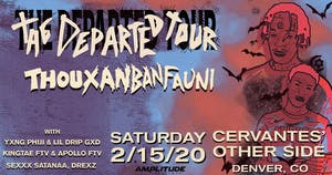 Thouxanbanfauni - The Departed Tour w/ Special Guests
