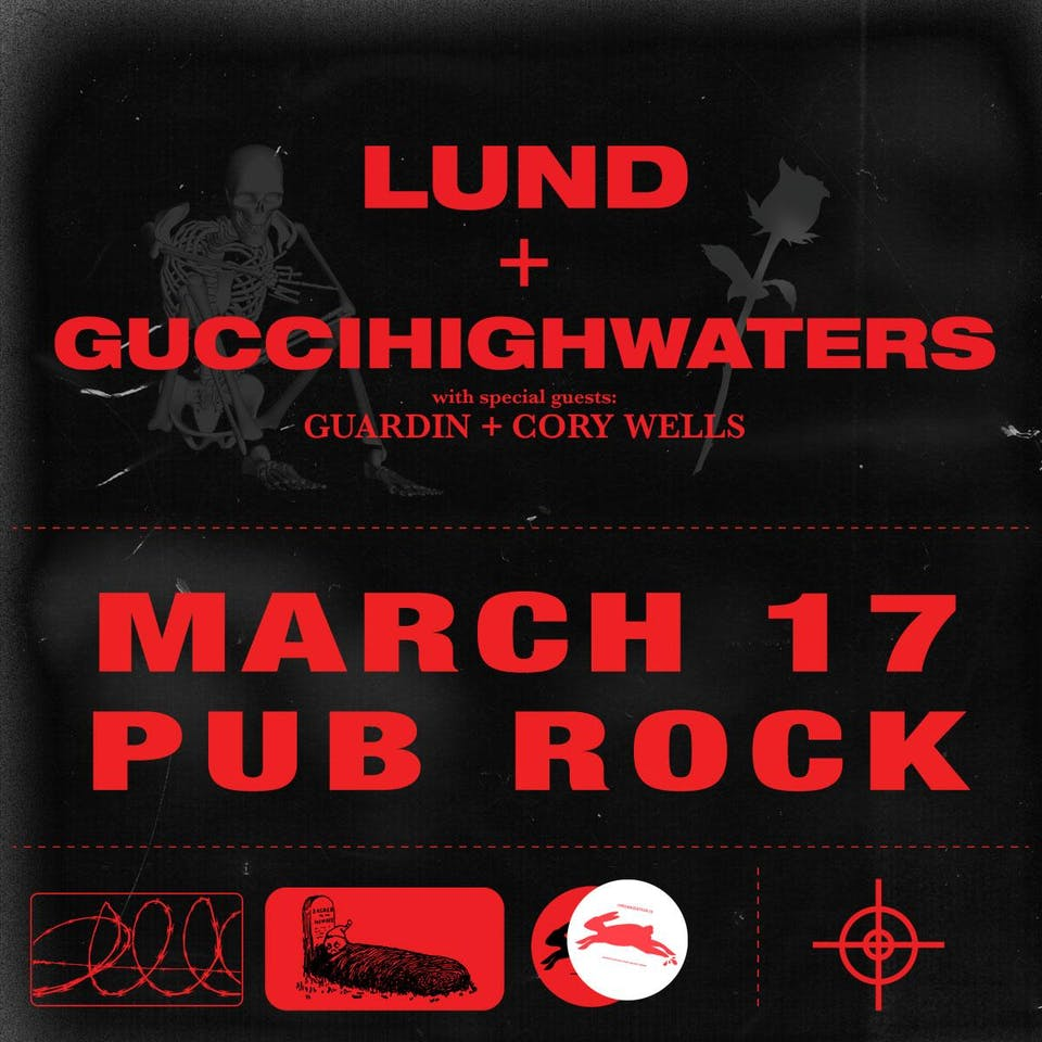 LUND & GUCCIHIGHWATERS at Pub Rock Live