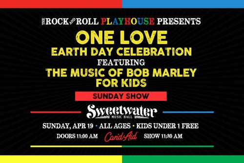 One Love Ft. The Music of Bob Marley for Kids Earth Day Celebration