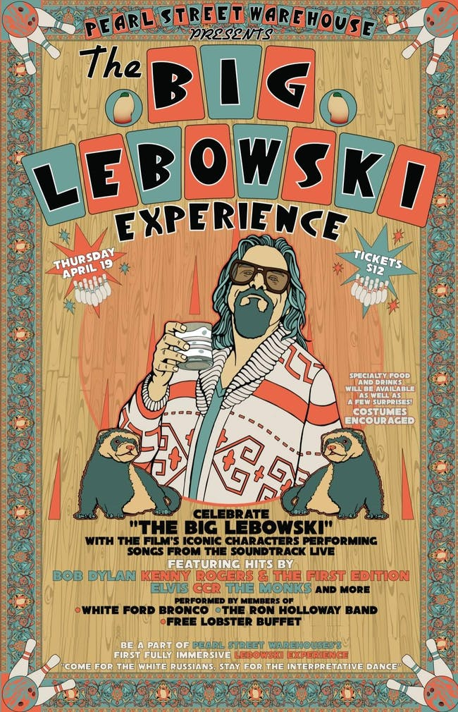 POSTPONED - The Big Lebowski Experience lll