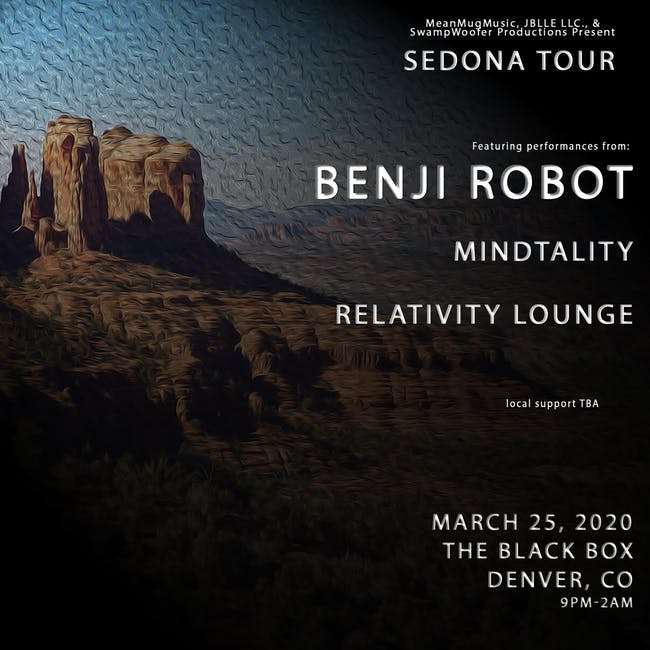 JBLLE LLC, Mean Mug Music & SwampWoofer Productions present: Benji Robot