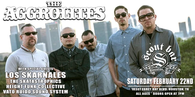 The Aggrolites w/ Los Skarnales, and more