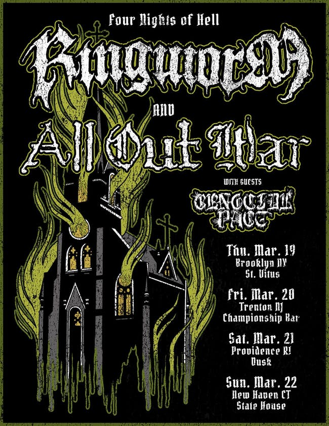 All Out War, Ringworm, Genocide Pact