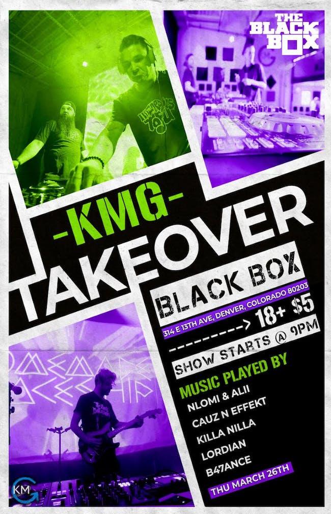 KMG Studios Takeover