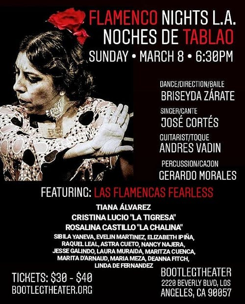 Noche de Tablao Flamenco Night with Briseyda Zárate & Co.