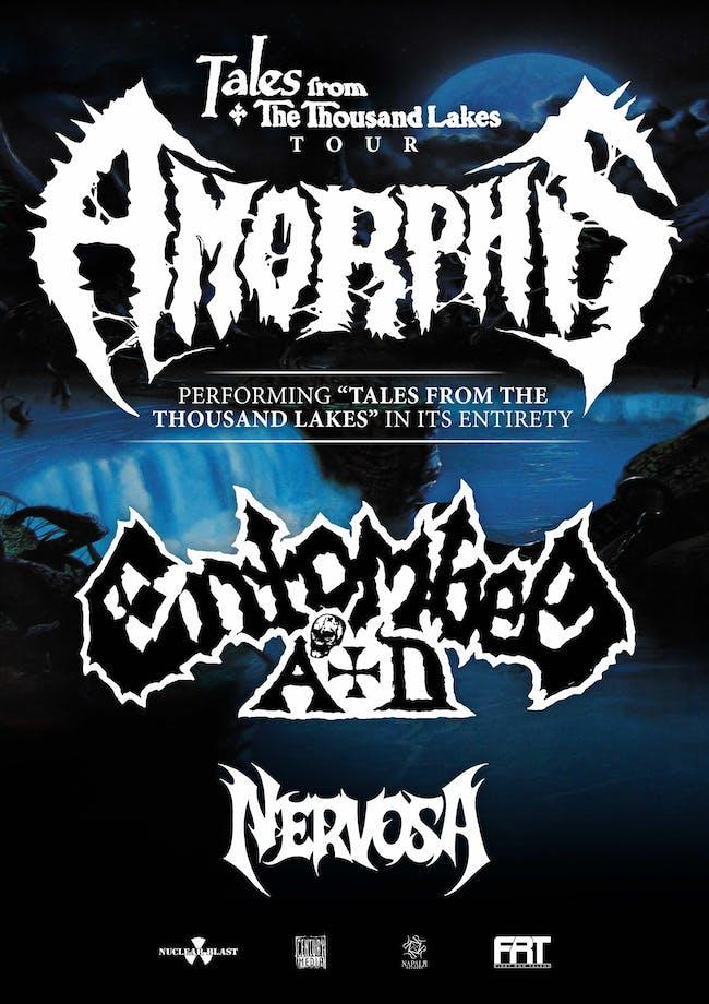 Amorphis Entombed AD Nervosa