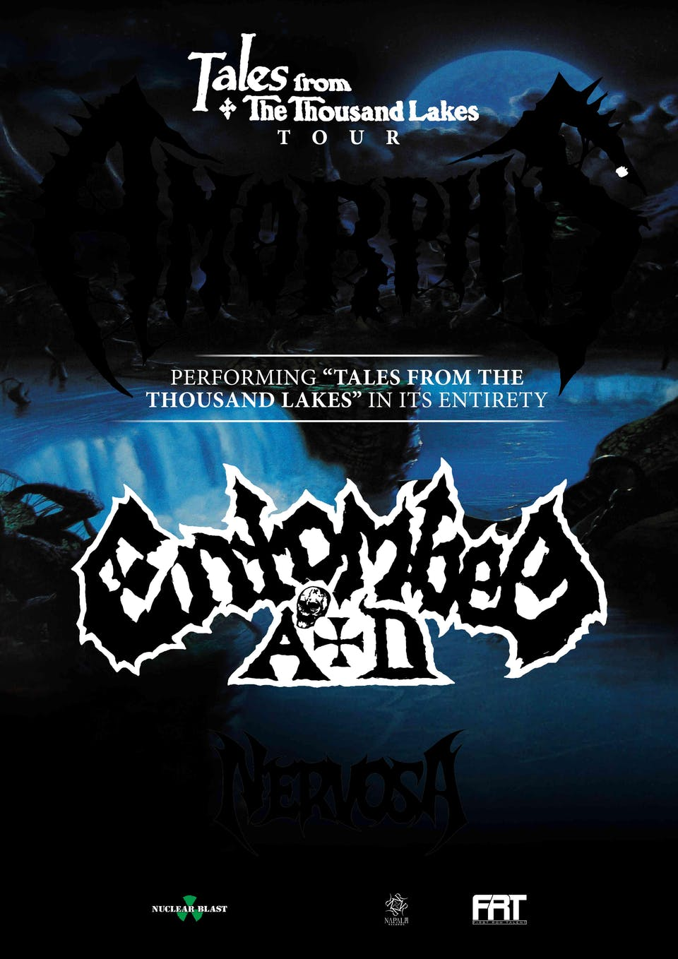 """Amorphis """"Tales from the Thousand Lakes"""" Tour in Orlando"""