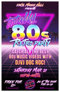 FREE* Totally 80s Retro Party