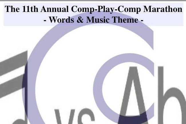 The 11th Annual Comp-Play-Comp Marathon
