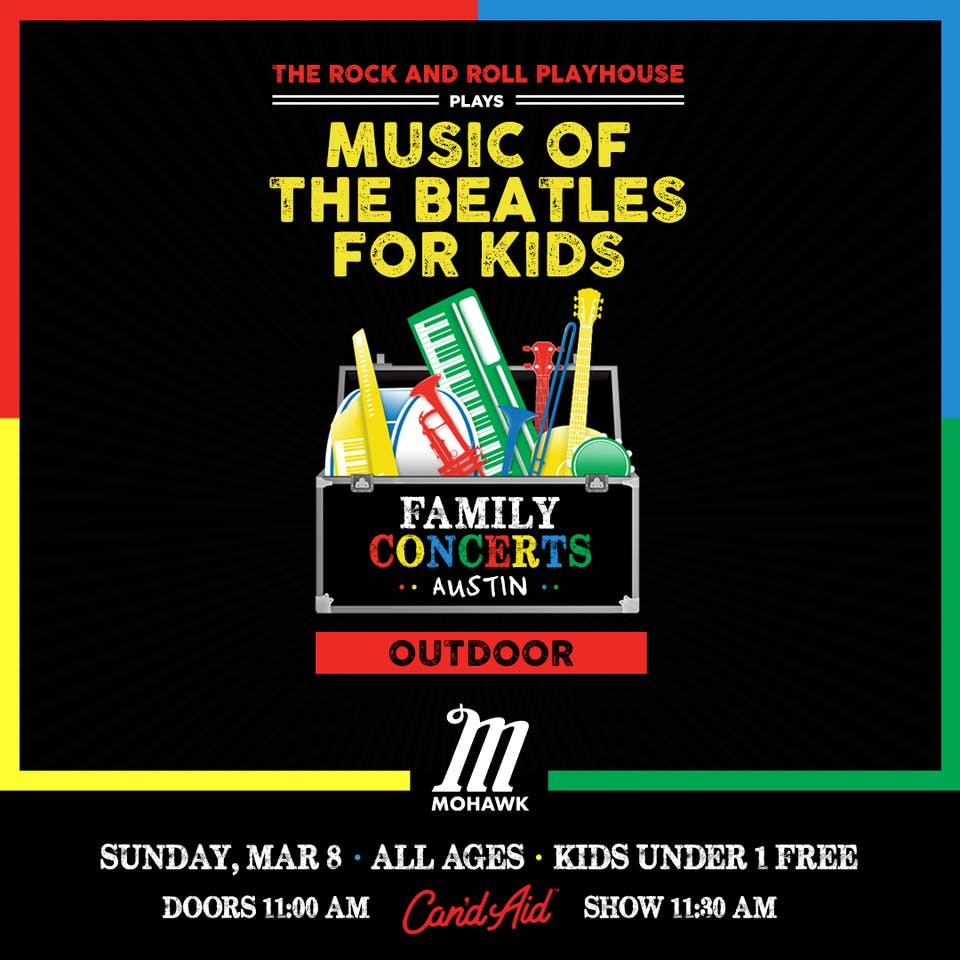 Music of The Beatles for Kids @ Mohawk