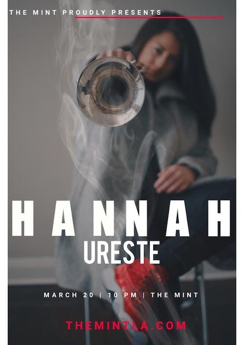 Hannah Ureste, insp!te, Jesse Groce