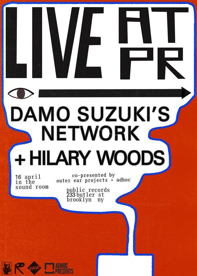 Damo Suzuki's Network + Hilary Woods