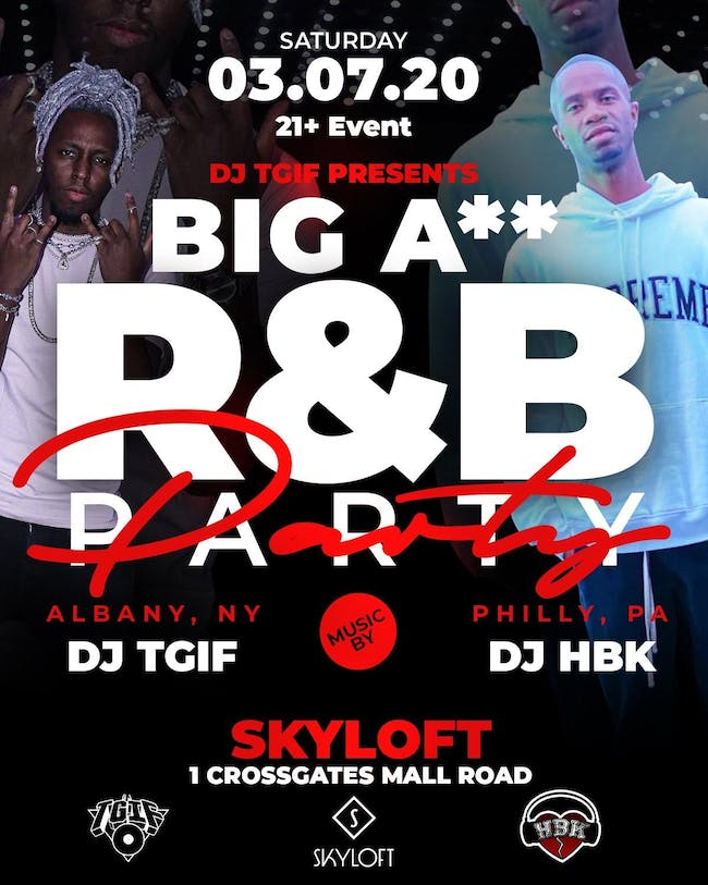 TGIF Presents: Big Ass R&B Party [SOLD OUT]