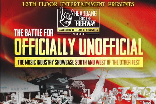 The Headbang For The Highway Battle For Officially Unofficial