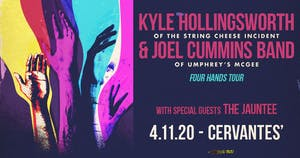 Kyle Hollingsworth Band and Joel Cummins (Umphrey's McGee) w/ The Jauntee