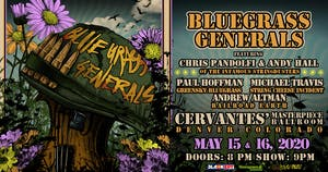 2-DAY PASS: Bluegrass Generals - Friday 5/15 & Saturday 5/16