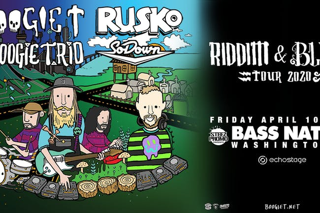 Boogie T & Boogie T.rio w/ Special Guest Rusko