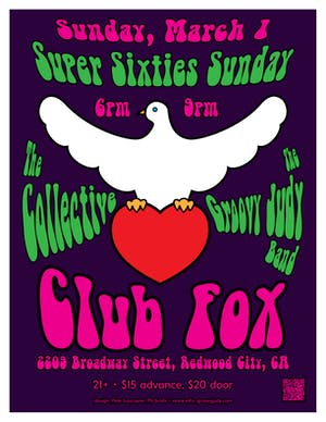 Super Sunday 60s Spring Show - The Collective & Th