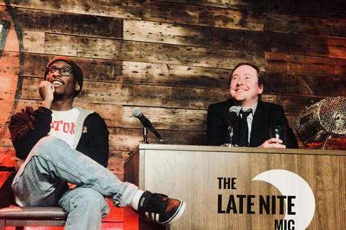 MONDAY MARCH 30: THE LATE NITE MIC