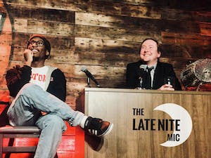 MONDAY MAY 25: THE LATE NITE MIC