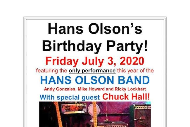 HANS OLSON'S BIRTHDAY!