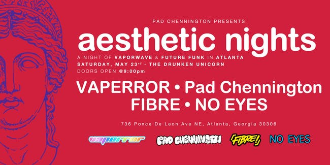 AESTHETIC NIGHTS: A Night of Vaporwave and Future Funk in Atlanta!