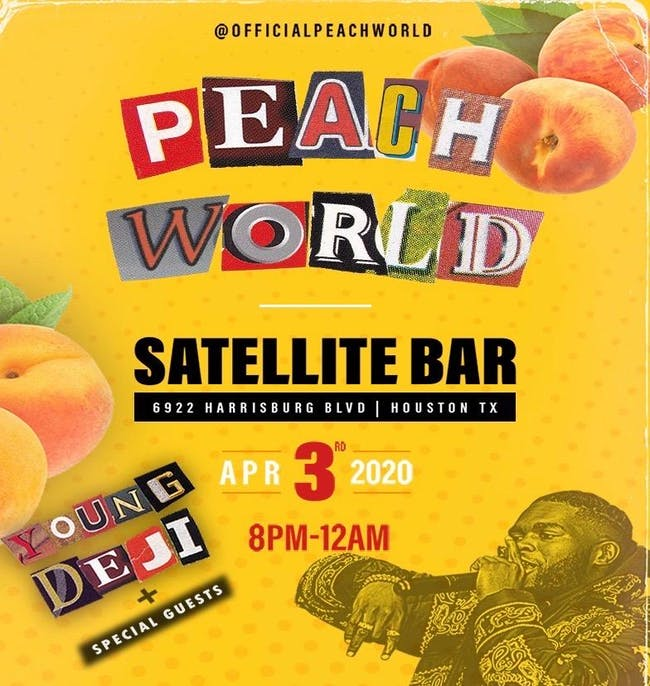 Peach World: Young Deji + Special Guests
