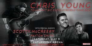 Chris Young Town Ain't Big Enough Tour