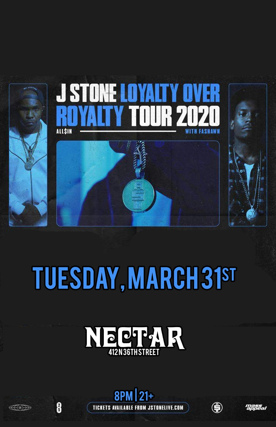 Postponed: FASHAWN + J STONE with special guests