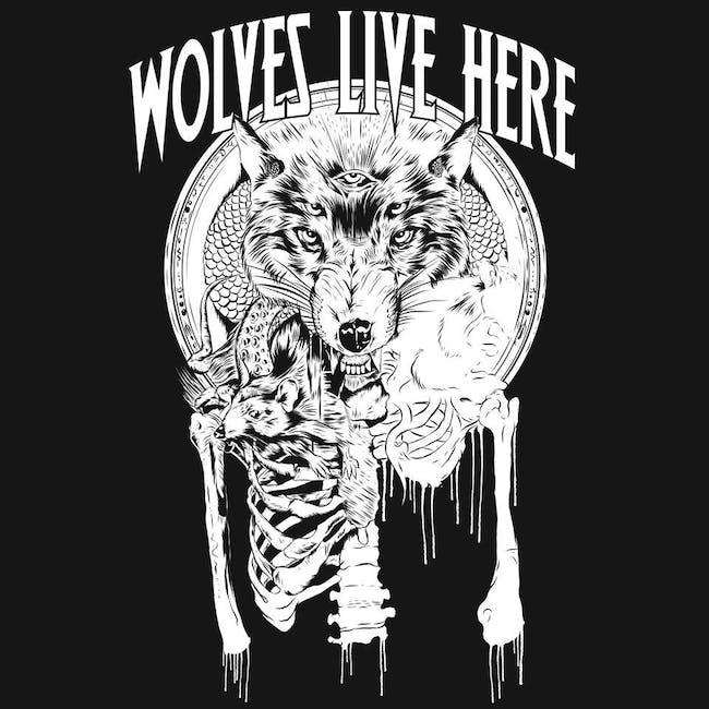 Wolves Live Here, Earth Crawler, Evil Mr. Bear