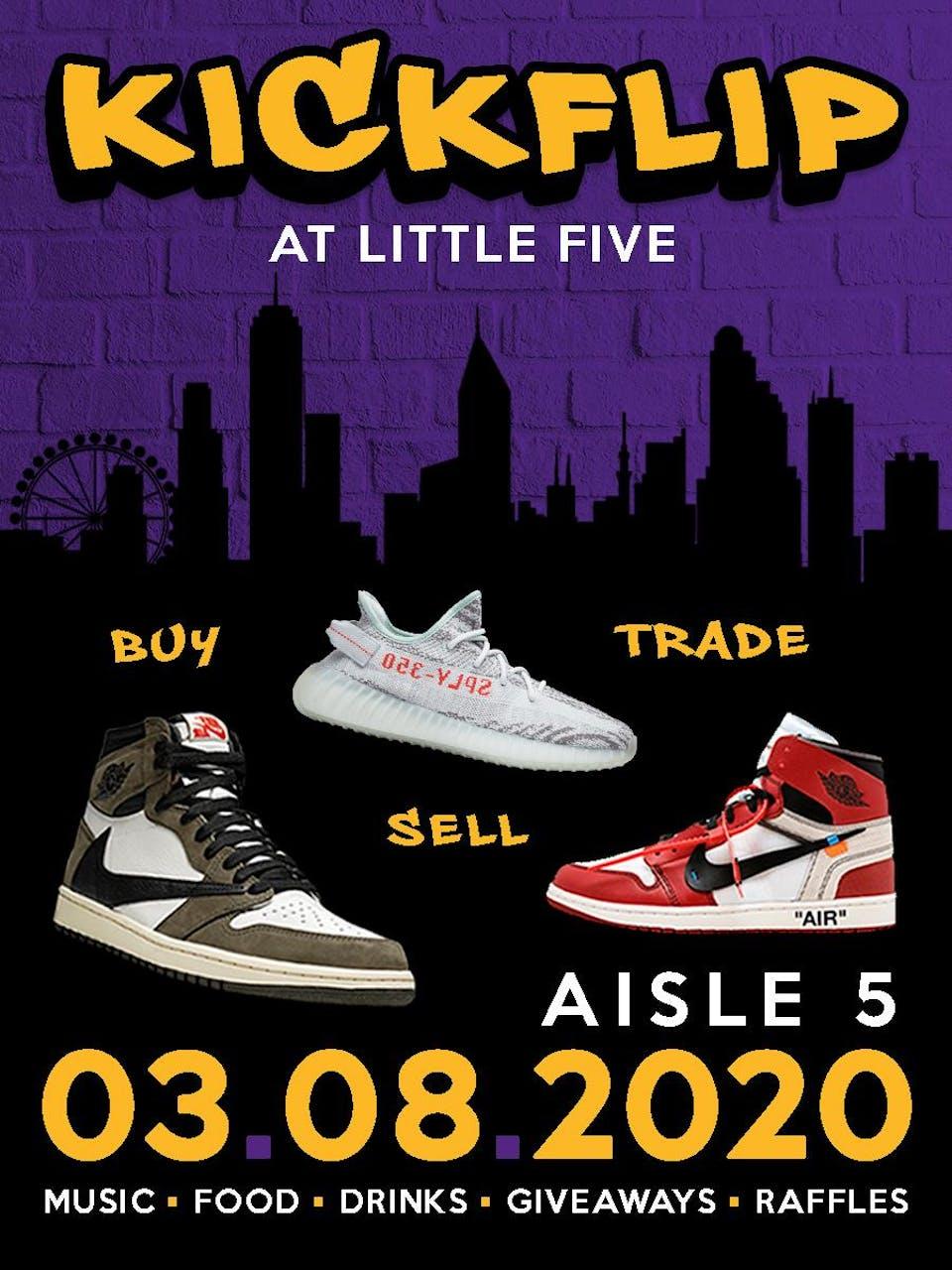 Kickflip Sneaker Fest