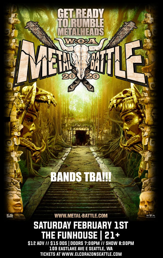 Wacken Metal Battle Semifinals 2020 at The Funhouse