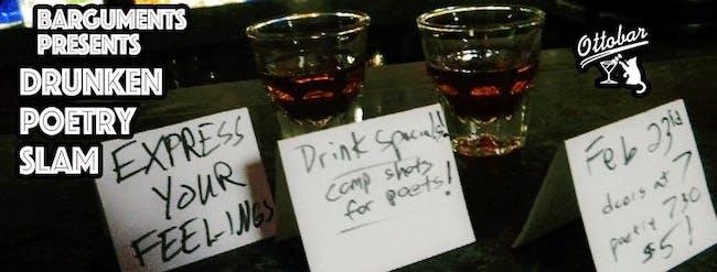 Drunk Poetry Slam