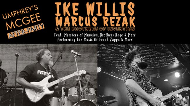 Ike Willis, Marcus Rezak & The Brothers Of Invention  at The Funhouse