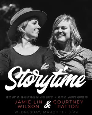 Jamie Lin Wilson's Storytime with guest Courtney Patton