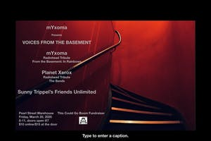 mYxoma - Radiohead Tribute: From The Basement w/ Planet Xerox +STFU