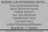 The Counterfeiters / Zach Griffith Band / Soot Sprites / + More