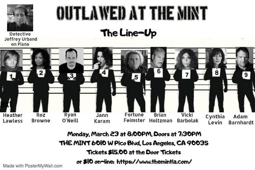 California Rocker Presents: Outlawed at The Mint