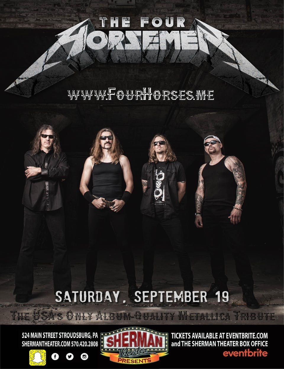The Four Horsemen - The ULTIMATE Metallica Tribute