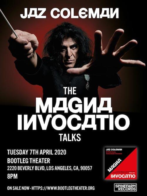 Jaz Coleman (Killing Joke): The Magna Invocatio Talks